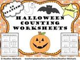 Cuenta Halloween / Halloween Math in Spanish