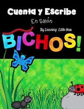 Cuenta y Escribe: Bichos (Count & Write: Bugs, Spanish version)