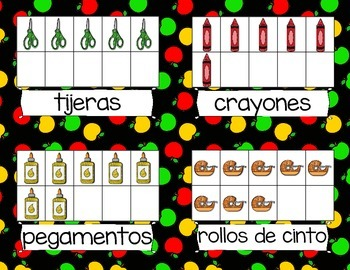 Cuenta y Escribe *Count & Write the Room--Beginning of the Year* in Spanish