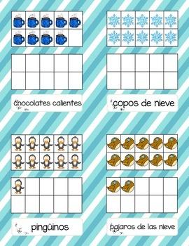 Cuenta y Escribe en Invierno *Write & Count the Room--January Ed.* in Spanish!