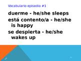 Cuéntame Episodio #1 Vocabulary