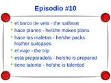 Cuéntame Episodio #10 Vocabulary