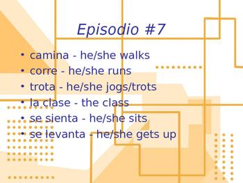Cuéntame Episodio #7 Vocabulary