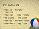 Cuéntame Episodio #9 Vocabulary