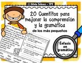 Cuentitos para mejorar la comprensión y la gramática de los más pequeños