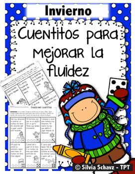 Cuentitos de invierno para mejorar la fluidez ¡En español!