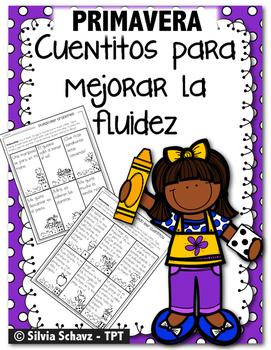 Cuentitos de primavera para mejorar la fluidez ¡En español!