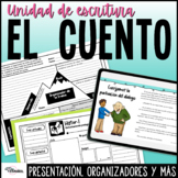 Cuento Proceso Escritura Creativa Narrativa | Narrative Writing Process Spanish