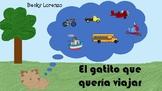 Cuento en Espanol El gatito que queria viajar (Spanish storybook)