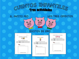 Cuentos Infantiles - Worksheets in Spanish for Three Class