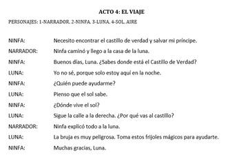 Cuentos de Hada - Spanish Fairy Tales and the preterit tense week unit