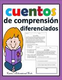 Cuentos de comprension - Reading passages - Spanish