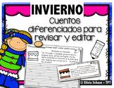 Cuentos diferenciados para revisar y editar - Invierno