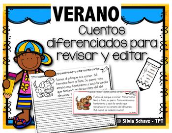 Cuentos diferenciados para revisar y editar - Verano