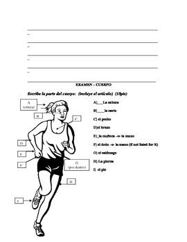 Cuerpo (BODY) exam