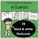 Cuerpo  / Body, Spanish Vocabulary Flashcards, Tarjetas de