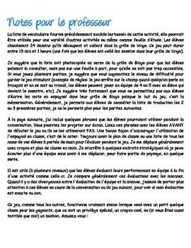 Bingo de cuerpo - (Corps humain en espagnol)   V.F.