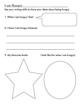 Cues to hunger health lesson