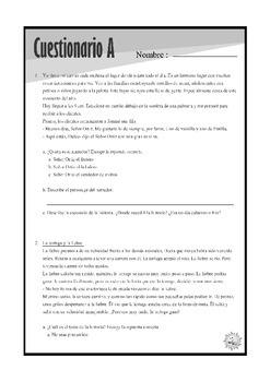 Cuestionarios: Punto de vista, Describiendo y Resumiendo la historia