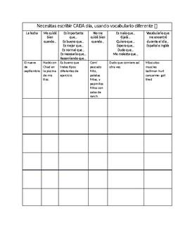 Cuidate Bien (Exercise & Health/ Subjunctive)