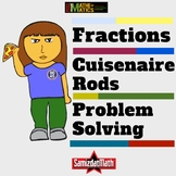 Cuisenaire Rod Elementary Fraction Activities: Hands On! M