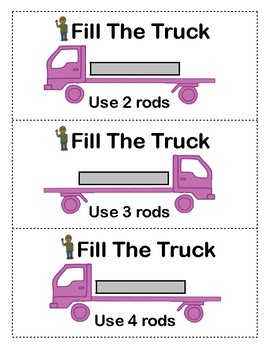 Cuisenaire Rod Puzzles: Combining Rods to Make a New Rod (Addition)