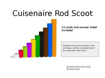 Cuisenaire Rod Scoot (editable)