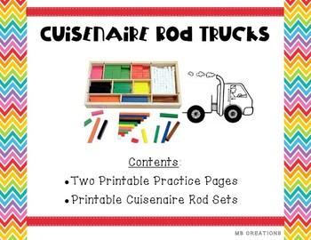 Cuisenaire Rod Trucks
