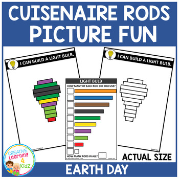 Cuisenaire Rods Picture Fun: Earth Day