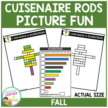 Cuisenaire Rods Picture Fun: Fall