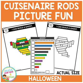 Cuisenaire Rods Picture Fun: Halloween