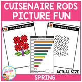 Cuisenaire Rods Picture Fun: Spring