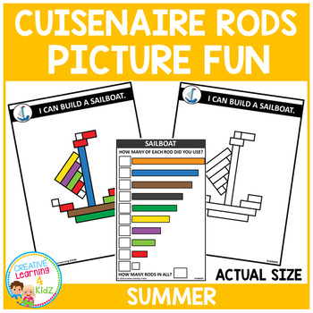 Cuisenaire Rods Picture Fun: Summer