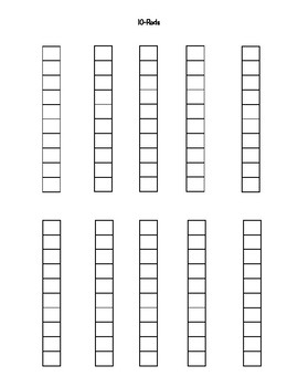 Cuisenaire Rods Printable