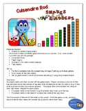 Cuisenaire Rods Snakes and Ladders