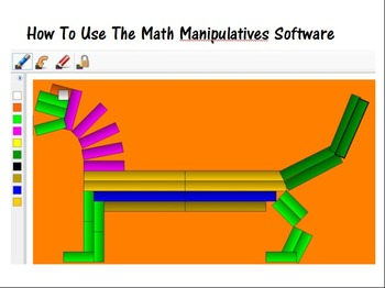 Cuisenaire Rods Software Introduction