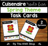 Cuisenaire Rods Task Cards - Spring Theme