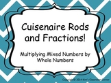 Cuisenaire Rods and Fractions; Multiplying Mixed Numbers by Whole Numbers