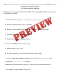 Culinary Arts, Foods Classes Knowledge Pre Assessment Survey What Do You Know?
