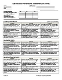 Culinary Arts Lab Rubric
