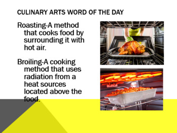Culinary Arts Word of The Day