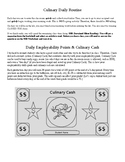 Culinary Daily Routine & Employability Skills