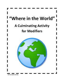 Modifiers {Culminating Activity}