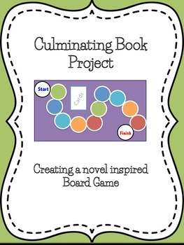 Culminating Book Project - Create a Novel Inspired Board Game