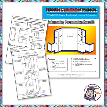 Culminating Presentation Boards using Multiple Foldables