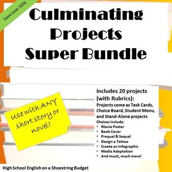 culminating project synonym