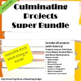 Culminating Projects Super Bundle, For Any Novel or Short Story - Word