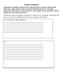 Culminating Writing Task Graphic Organizer for Hatchet by