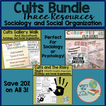 Cults Bundle for Sociology and Psychology