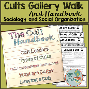 Cults Gallery Walk and Handbook for Sociology